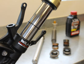 Race Pace Suspension ROAD Servicing