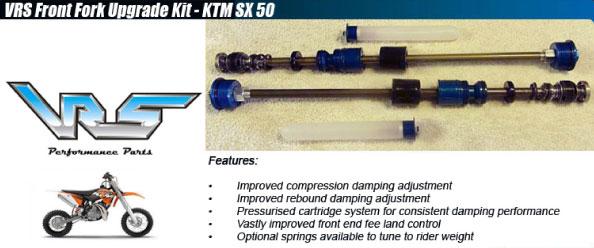 VRS Front Fork Upgrade Kit - KTM SX 50 2012